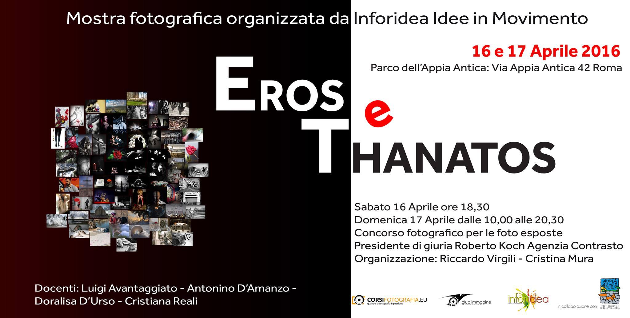 """Mostra Fotografica """"Eros e Thanatos"""""""